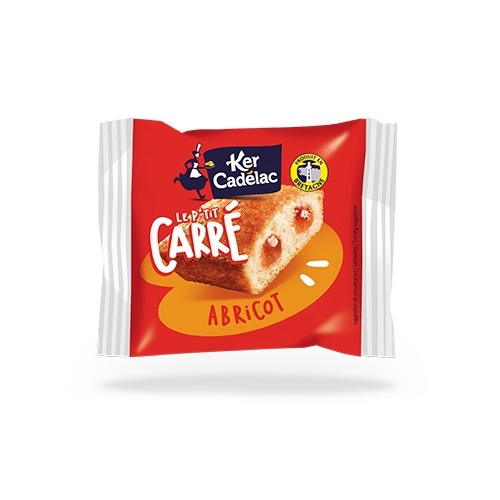 Carré fourré Abricot